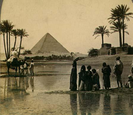 Gran Pirámide La primera maravilla: La Gran Pirámide de Gizeh