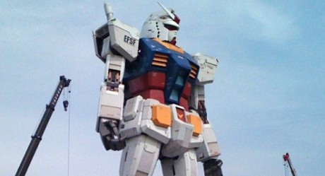 Gundam 460x249 El Gundam a escala real regresa a Odaiba