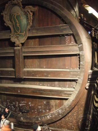Heidelberg Tun 345x460 El Gran Barril del Castillo de Heidelberg