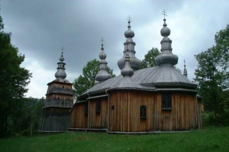Iglesia de Turzansk Pequeña Polonia 460x306 Las iglesias de la Pequeña Polonia: tesoros de madera