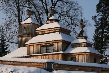 Iglesias de madera de Eslovaquia 460x306 Las iglesias de madera de los Cárpatos