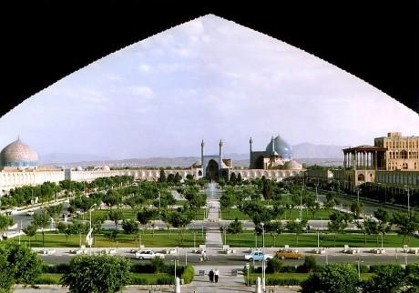 Isfahan plaza de Naghshe Jahan 460x322 Isfahan, la antigua capital de Persia
