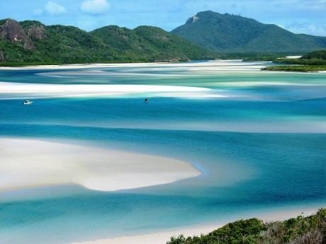 Islas Whitsunday Hill Inlet 460x345 Las islas Whitsunday, un paraíso en un mar de coral