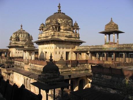 Jahangir Mahal Orchha 460x345 Orchha, la ciudad palacio abandonada