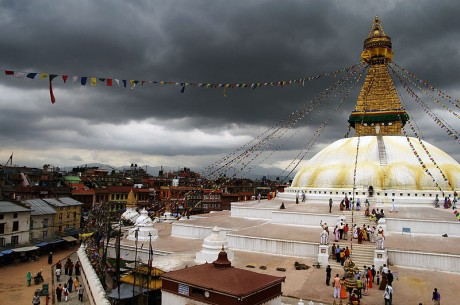 Katmandú Boudhanath 460x305 El místico valle de Katmandú
