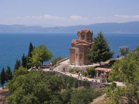 Lago Ohrid 460x344 Los lagos de Ohrid y Prespa, en los Balcanes
