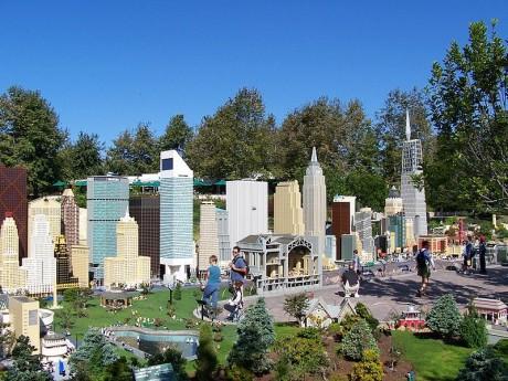 Legoland maqueta New York 460x345 Legoland, un parque temático a piezas