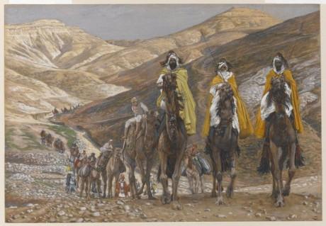 Les rois mages en voyage 460x319 La historia de los Reyes Magos: segunda parte