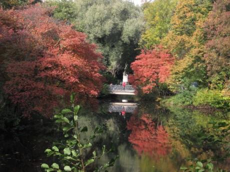 Luiseninsel Grosser Tiergarten 02 460x345 Parque Tiergaten, el pulmón de Berlín