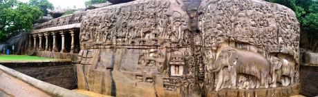 Mahabalipuram 460x141 Mamallapuram, un lujo en piedra
