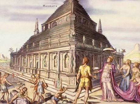 Mausoleo de Halicarnaso 460x342 El Mausoleo de Halicarnaso, un bello lugar de reposo