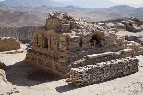 Mes Aynak 460x306 Lucha contrarreloj para salvar un yacimiento histórico en Afganistán