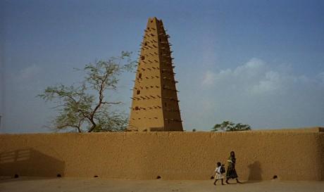 Mezquita de Agadez 460x273 Las mezquitas de tierra de Níger