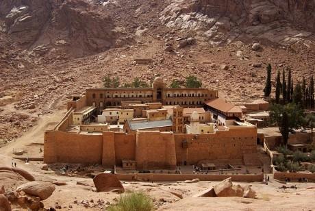 Monasterio de Santa Catalina en el Monte Sinaí 460x308 El monasterio de Santa Catalina en el Monte Sinaí