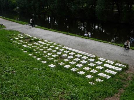 Monumento al teclado 460x345 El Monumento al Teclado, un símbolo de unión