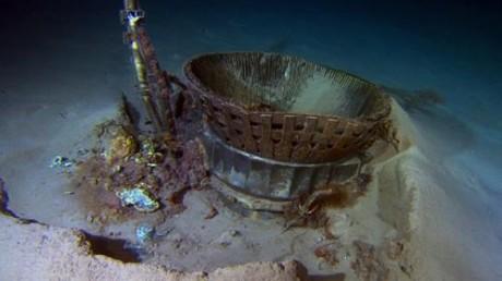 Motores Saturno V 460x258 Recuperados del fondo del mar dos motores de las misiones Apolo