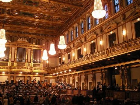 Musikverein Wien 460x345 Musikverein, el alma de la música vienesa