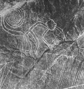 Nazca monkey El misterio de las líneas de Nazca