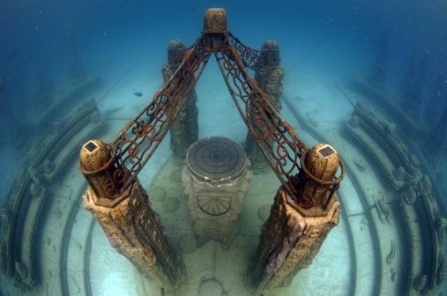 Neptune Memorial Reef El primer cementerio submarino
