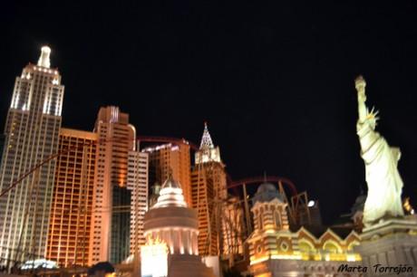New Yor 460x306 New York New York, un hotel con montaña rusa en Las Vegas