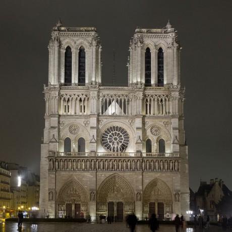 Notre Dame de París 460x460 La catedral de Notre Dame, un símbolo de París