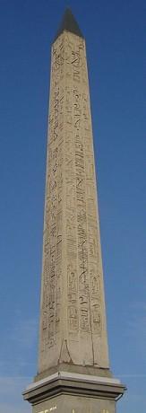 Obelisco de Luxor 163x460 Obeliscos, las agujas del poder