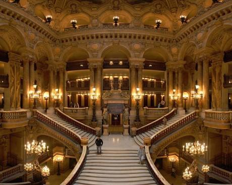 Opera Garnier 460x366 La lujosa Òpera de Garnier