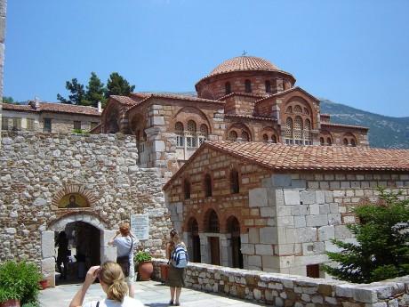 Osios Loukas 460x345 Los monasterios bizantinos de Quios