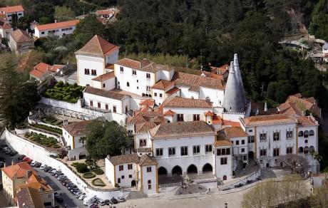 Palacio Nacional de Sintra 460x292 El Palacio Nacional de Sintra, una preciosa mezcla de estilos arquitectónicos