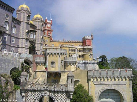 Palacio da Pena 1 460x344 Palacio da Pena, un castillo de cuento de hadas