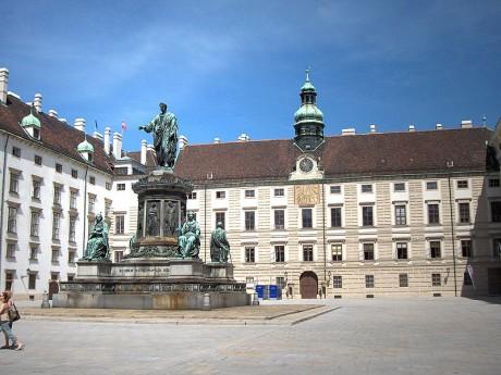 Palacio de Hofburg 460x345 El Palacio Imperial de Hofburg