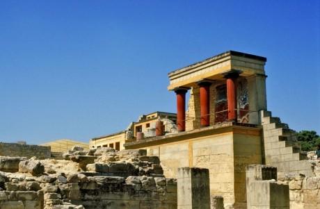 Palacio de Knosos 460x301 Creta: bella, histórica y mitológica