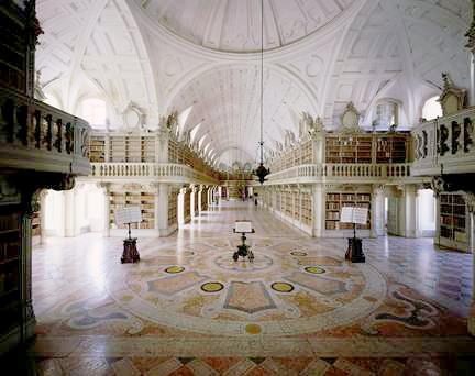 Palacio de Mafra biblioteca El Palacio de Mafra, una maravilla barroca