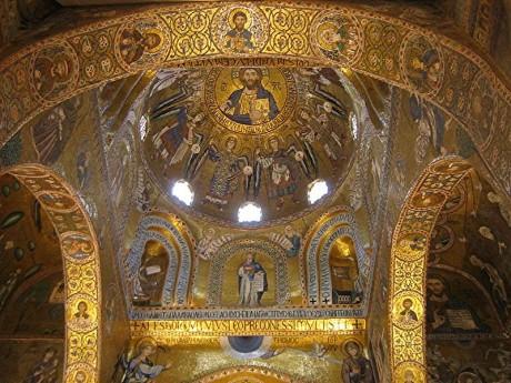 Palacio de los Normandos Capilla Palatina 460x345 El Palacio de los Normandos de Palermo
