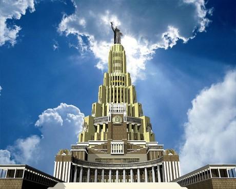 Palacio de los Soviets 460x368 El Palacio de los Soviets, un titán jamás construido