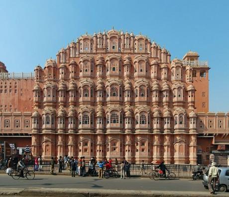 Palacio de los Vientos de Jaipur 460x396 Hawa Mahal, el Palacio de los Vientos de Jaipur