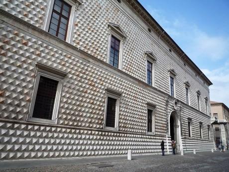 Palazzo dei Diamanti 460x345 El Palacio de los Diamantes de Ferrara