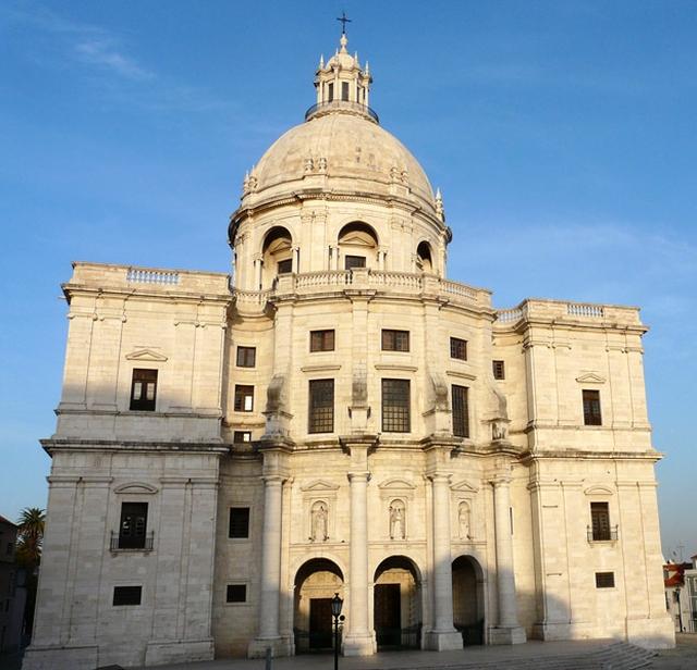 Panteon nacional El Panteón Nacional de Lisboa