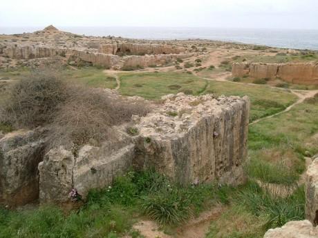 Paphos Tumba de los Reyes 460x345 Paphos, la cuna de Afrodita