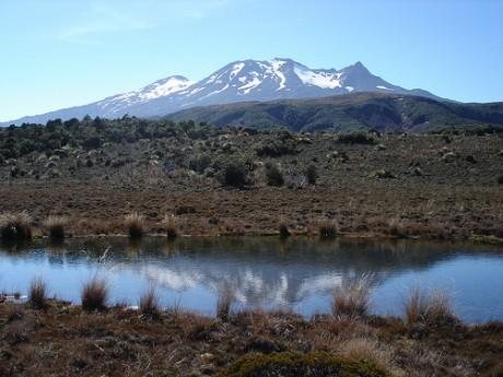 Parque Nacional de Tangoriro 460x345 Parque Nacional de Tongariro, un escenario de película