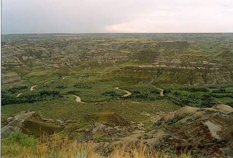 Parque Provincial de los Dinosaurios Canada 460x312 El parque de los dinosaurios, un tesoro para los paleontólogos