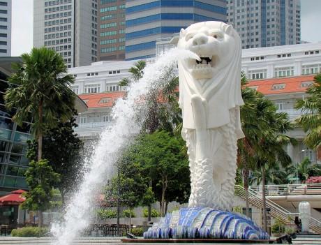Parque de Merlion 460x351 El Parque Merlion de Singapur