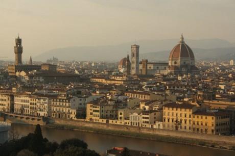 Piazzale Michelangelo 1 460x306 Piazzale Michelangelo, el mejor punto de observación de Florencia