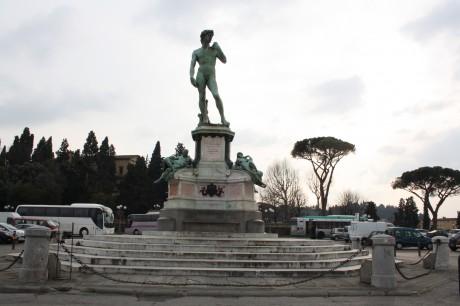 Piazzale Michelangelo 2 460x306 Piazzale Michelangelo, el mejor punto de observación de Florencia