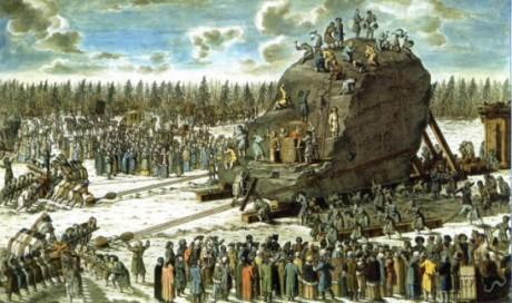 Piedra del Trueno 460x272 La Piedra del Trueno, el monolito más grande del mundo