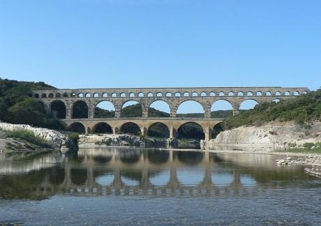 Puente del Gard 460x324 El Puente del Gard, un acueducto espectacular