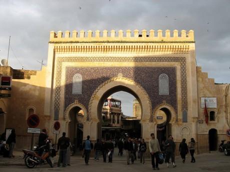 Puerta Bab Bou Jeloud 460x345 Puerta Bab Bou Jeloud de Fez