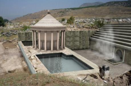 Puerta de Plutón Pamukkale 460x301 Una puerta al Hades en Turquía