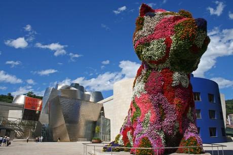 Puppy 460x306 Puppy, el guardián del Guggenheim Bilbao