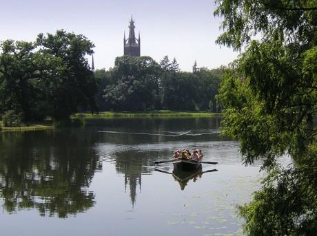 Reino de los Jardines Lago de W%C3%B6rlitzer 460x343 El Reino de los Jardines de Dessau Wörlitz